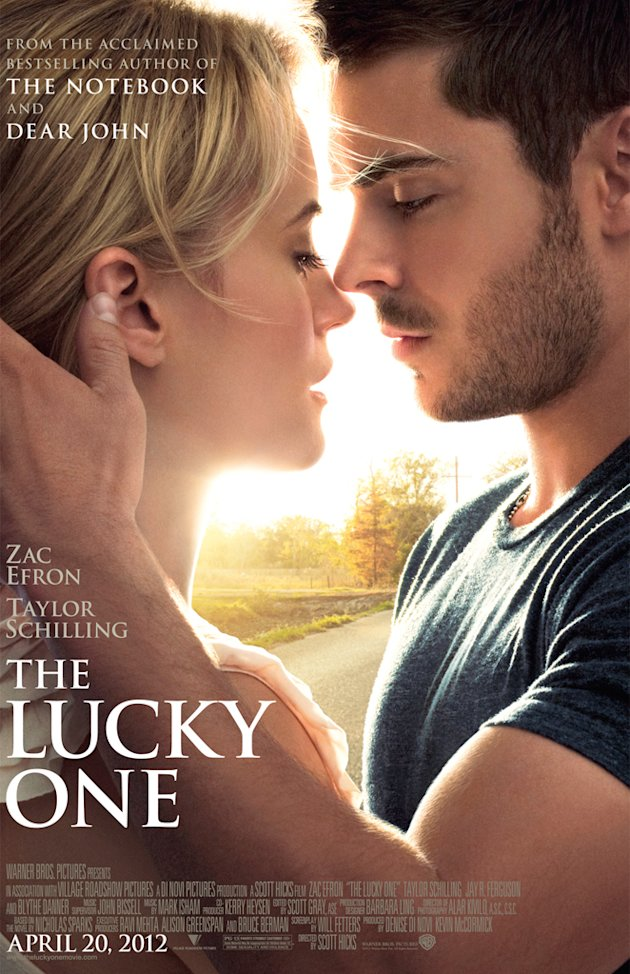 The Lucky One 2012 Warner Bros Pictures Poster