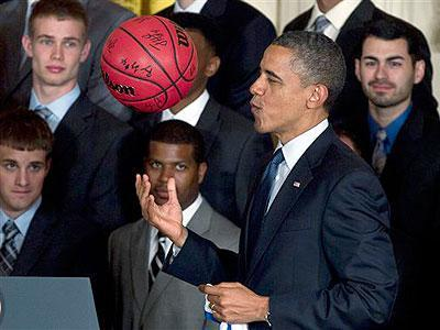 Obama honors NCAA champion Kentucky Wildcats