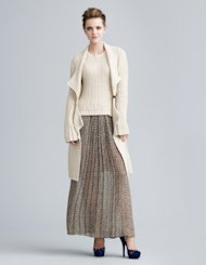 Trendy cardigan for Fall 2012.