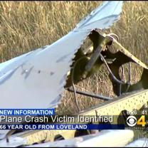 Man Dies In Plane Crash Near Longmont