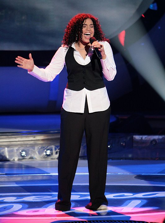 Jordin Sparks performs as …