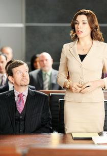 Dylan Baker and Julianna Margulies | Photo Credits: David M. Russell/CBS