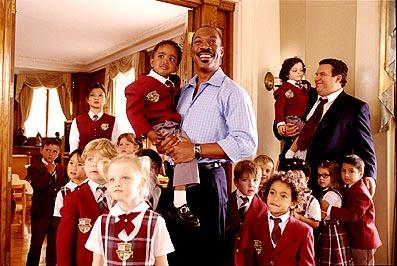 Michelle Krusiec , Eddie Murphy and Jeff Garlin in Columbia's Daddy Day Care