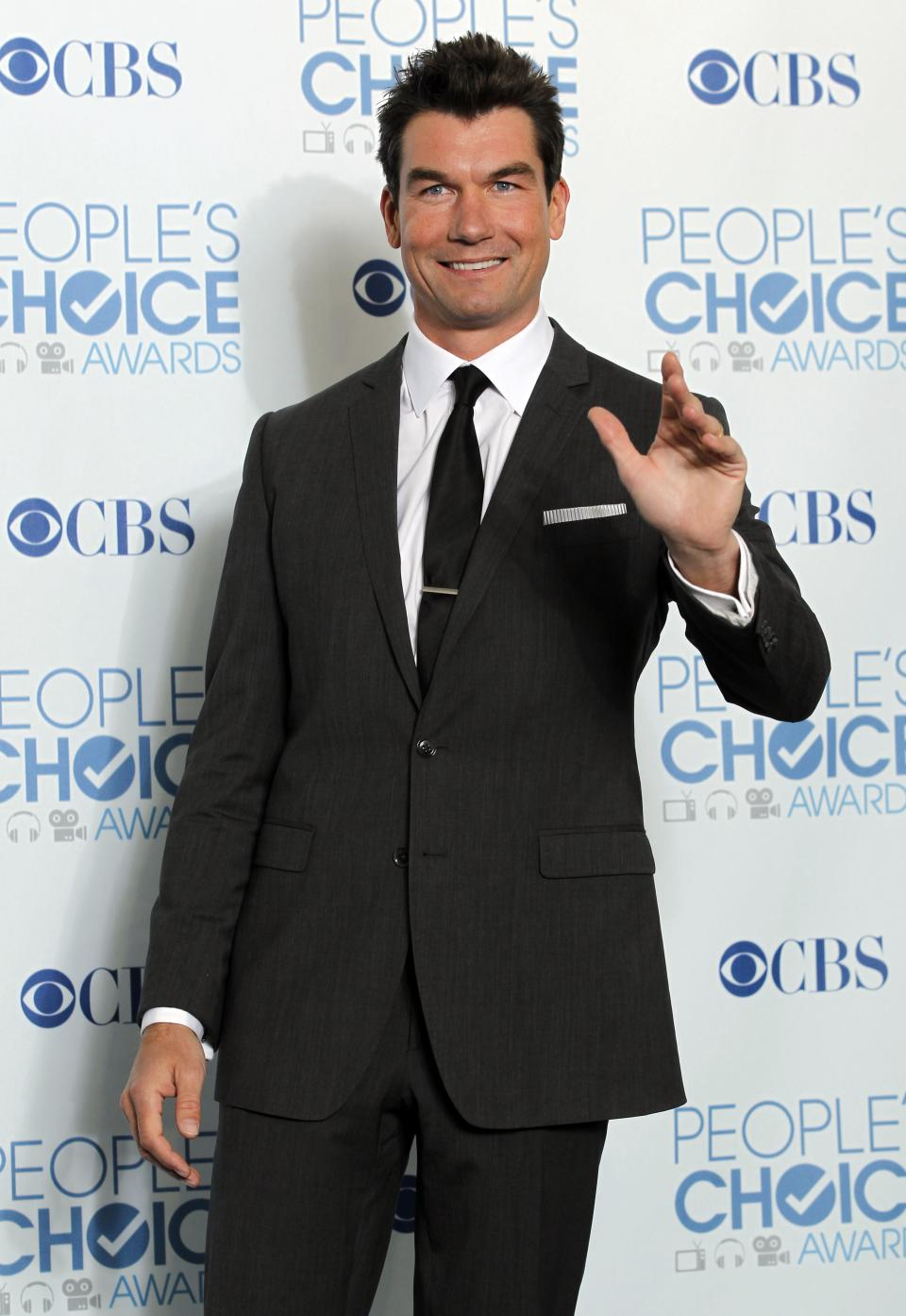 Jerry O'Connell poses for a photo backstage at the People's Choice Awards on Wednesday, Jan. 5, 2011, in Los Angeles. (AP Photo/Matt Sayles)