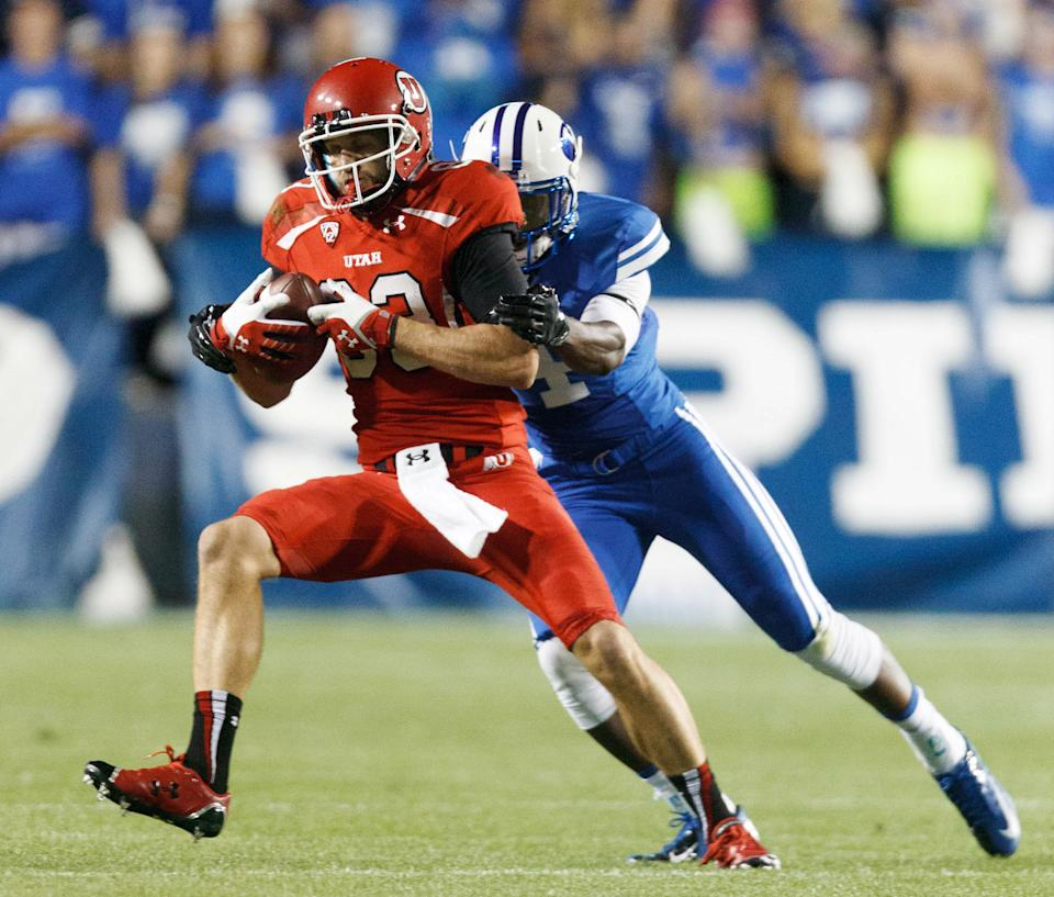 Utah wins fourth straight over BYU 20-13