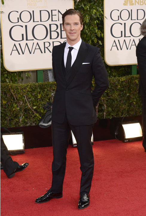 "NBC's ""70th Annual Golden Globe Awards"" - Arrivals: Benedict Cumberbatch"