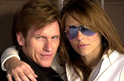 Denis Leary and Elizabeth Hurley Sundance Film Festival Day 2 Park City, Utah 1/19/2001