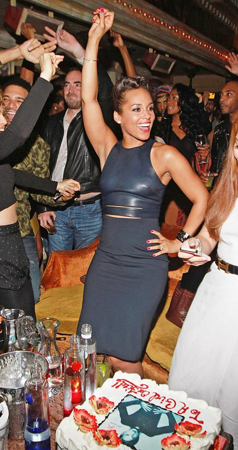 Alicia Keys Celebrates Album Release With Big, Star-Studded Bash
