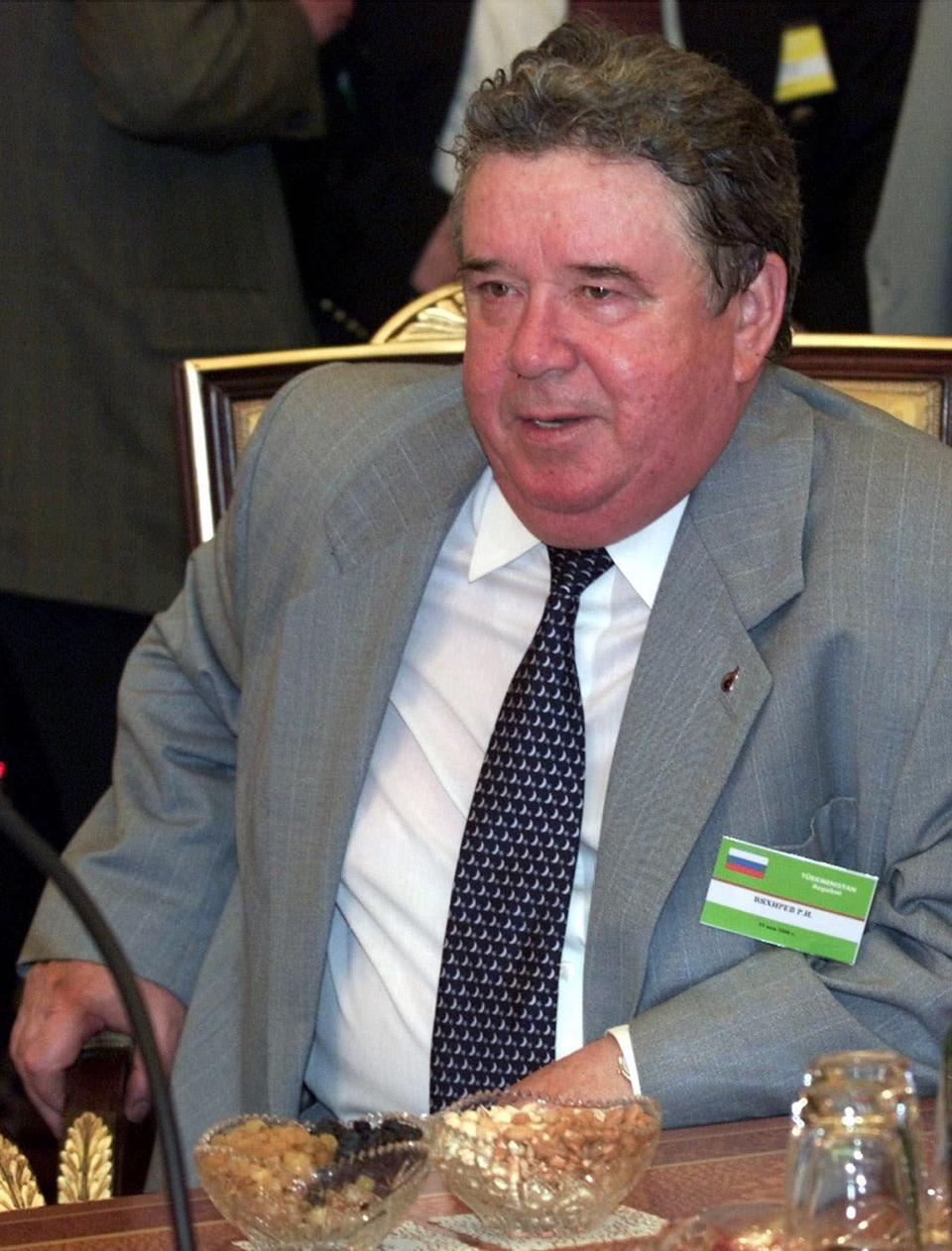 Ex-chief of Russia's Gazprom Vyakhirev dies at 78