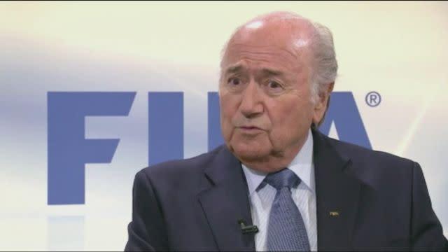 Blatter criticises Italian football [AMBIENT]