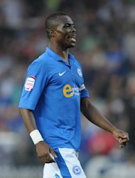 Gaby Zakuani, pictured, is among four players disciplined by Peterborough