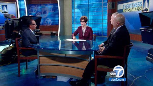 Los Angeles city leaders look back on 2012