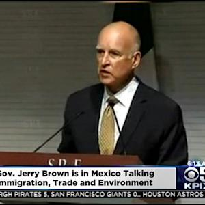 Gov. Brown Talks Immigration, Trade & Environment During Visit To Mexico