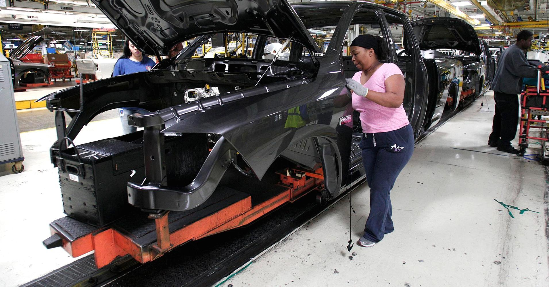 Factory and auto sales data loom on Wall Street