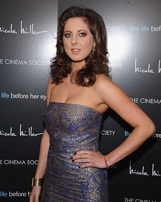 Eva Amurri at the New York premiere of Magnolia Pictures' The Life Before Her Eyes