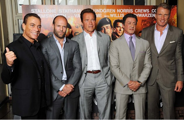 El paso del tiempo segn &amp;#39;The Expendables&amp;#39;