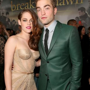 Kristen Stewart and Robert Pattinson arrive at the premiere of Summit Entertainment&#39;s &#39;The Twilight Saga: Breaking Dawn - Part 2&#39; at Nokia Theatre L.A. Live in Los Angeles on November 12, 2012  -- Getty Images