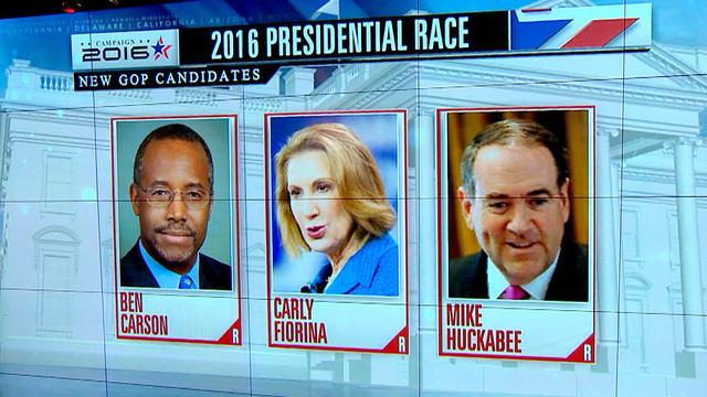 Growing field of GOP candidates in dash to White House