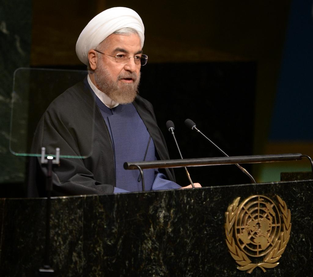 Iran's Rouhani says not for police to enforce Islam