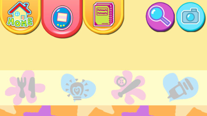 "This publicity photo released by Sync Beatz Entertainment shows the app mode screenshot of mobile app ""Tamagotchi L.i.f.e."" by developer/publisher Bandai America Inc./Sync Beatz Entertainment. The app duplicates the egg-shaped Tamagotchi toy that became a must-own sensation after it was first released in 1996 in Japan. (AP Photo/Bandai America Inc./Sync Beatz Entertainment)"