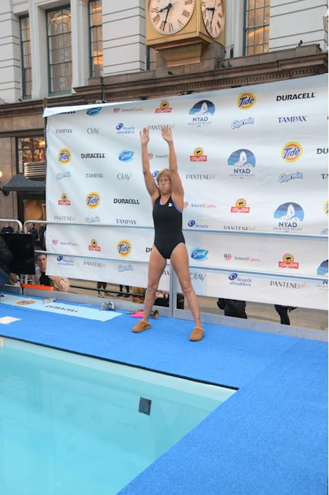 Diana Nyad Sandy Charity Swim