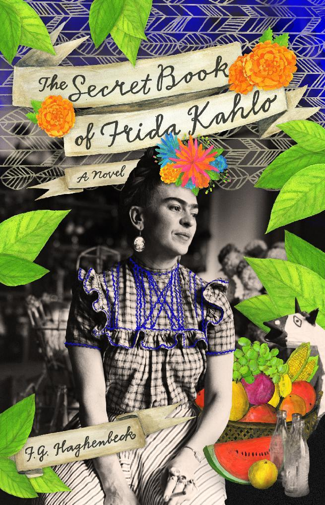 "This book cover image released by Atria shows ""The Secret Book of Frida Kahlo,"" a novel by F. G. Haghenbeck. (AP Photo/Atria)"