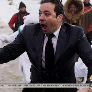 Jimmy Fallon's Polar Plunge