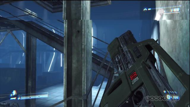 Cargo Bay - Aliens: Colonial Marines Gameplay (Xbox 360)