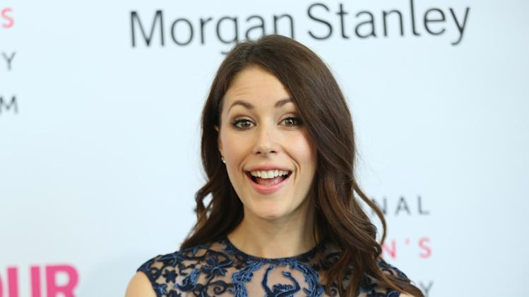 Amanda Crew seen at the 3rd Annual Women Making History Brunch presented by the National Women's History Museum and Glamour Magazine at the Skirball Cultural Center on Saturday, August 23, 2014, in Los Angeles, Calif. (Photo by Matt Sayles/Invision for National Women's History Museum/AP Images)
