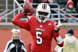 Bridgewater, No. 12 Louisville top Temple 45-17