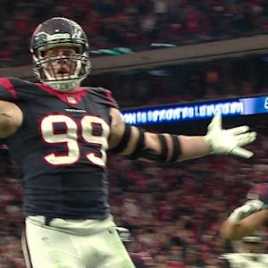 Week 17: Houston Texans defensive end J.J. Watt highlights
