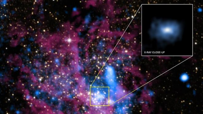 Two million years ago, this black hole would have been 10 million times more dazzling.