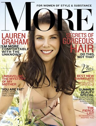 Lauren Graham in the May 2013 issue of &quot;More&quot;