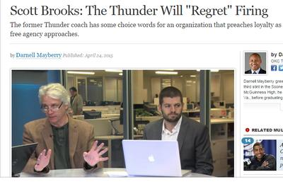 This is how the fake Scott Brooks article was made