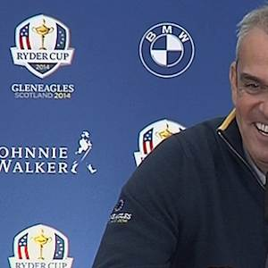 "McGinley talks about Team Europe's two ""targets"""
