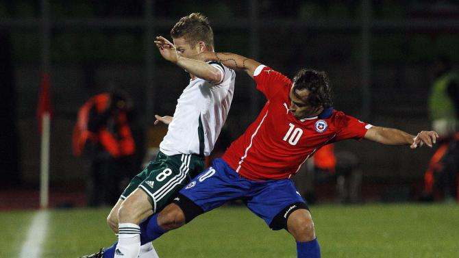 Chile beats NIreland 2-0 in World Cup warm-up