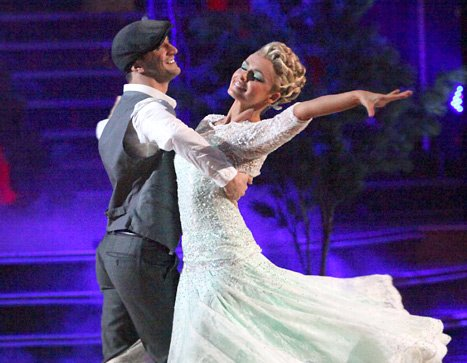 Katherine Jenkins Suffers Back Injury on Dancing With the Stars