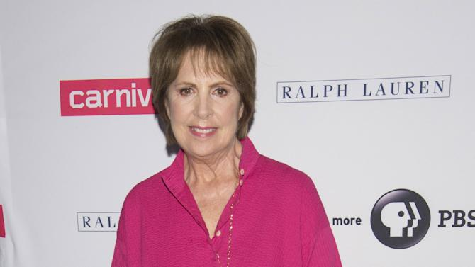 "Penelope Wilton attends a photo call for ""Downton Abbey"" cast members in Beverly Hills, California"