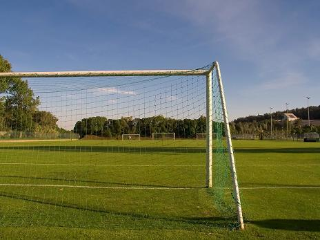A soccer goal, courtesy of www.morguefile.com