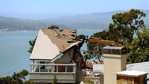 A $4.2 Million Tear-Down House in Belvedere, California (ABC News)