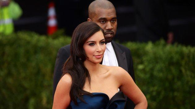 Kim Kardashian and Kanye West attend the 'Charles James: Beyond Fashion' Costume Institute Gala at the Metropolitan Museum of Art on May 5, 2014 in New York City -- Getty Images