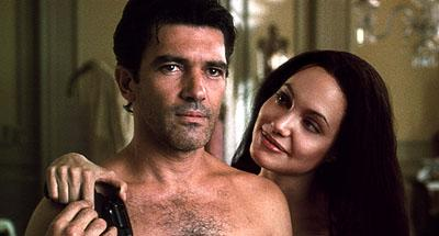Antonio Banderas and Angelina Jolie in MGM's Original Sin