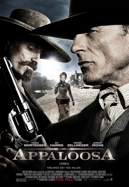 Appaloosa Production Stills New Line Cinema 2008 Poster