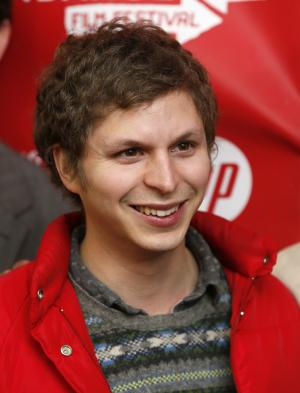 """Cast member Michael Cera poses at the premiere of """"Crystal Fairy"""" during the 2013 Sundance Film Festival on Thursday, Jan. 17, 2013 in Park City, Utah. (Photo by Danny Moloshok/Invision/AP)"""