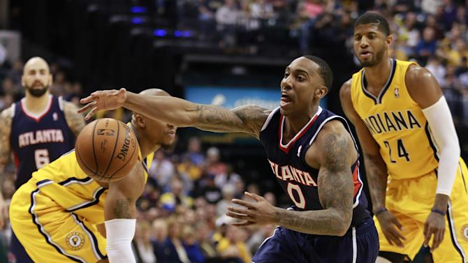Hawks rout Pacers 107-88, boost playoff hopes