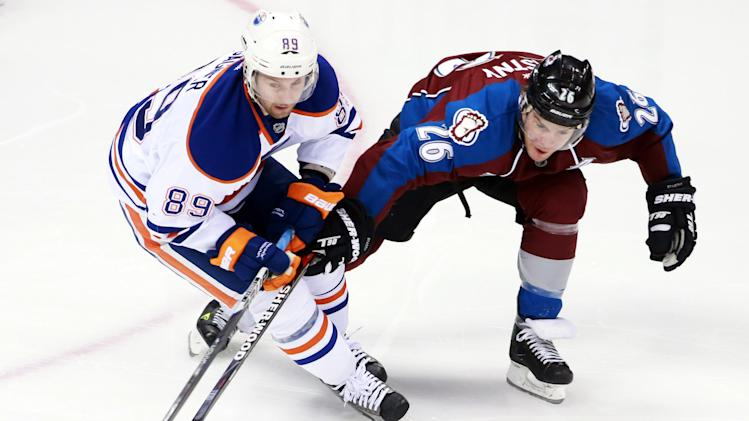 NHL: Edmonton Oilers at Colorado Avalanche