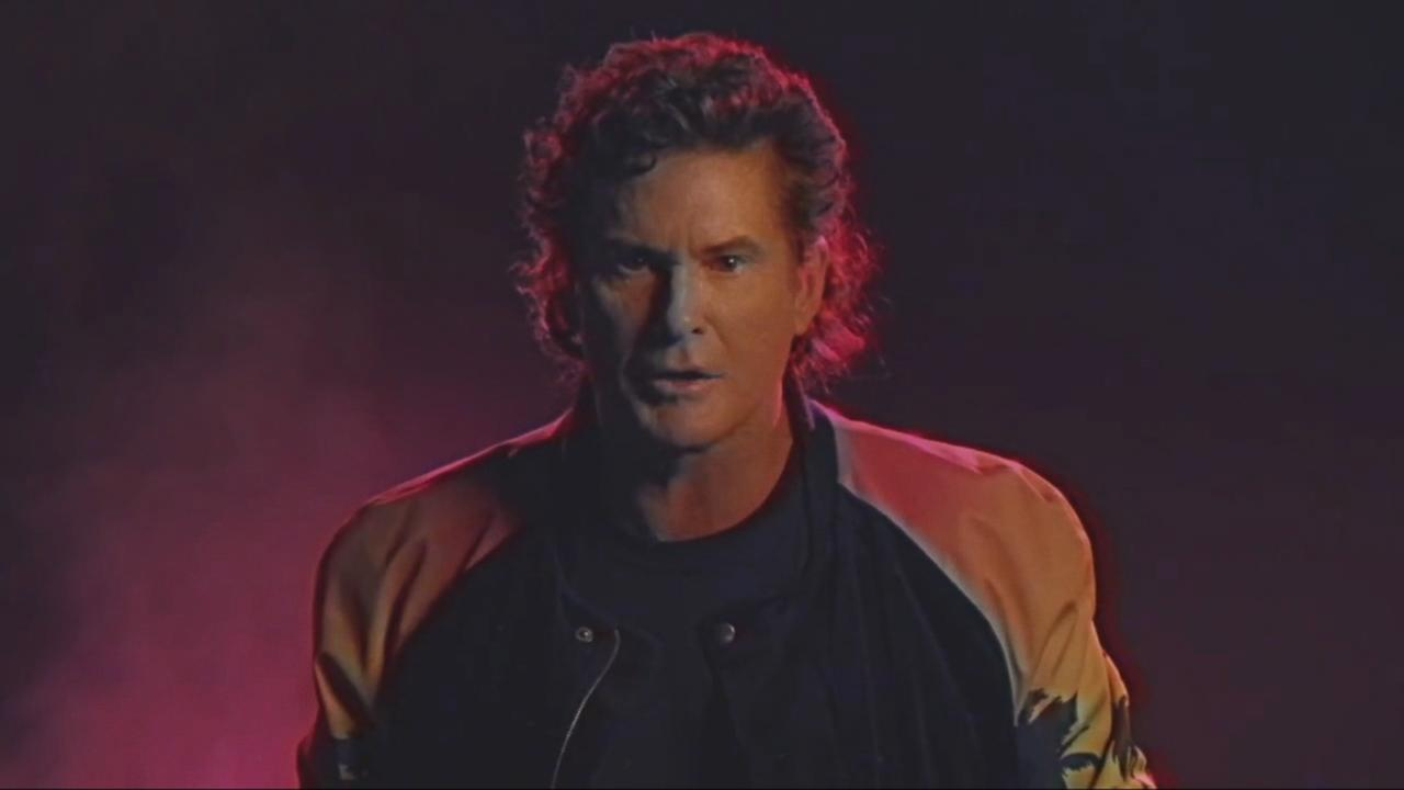 David Hasselhoff's Music Video 'True Survivor' Is a Strange 1980s Journey