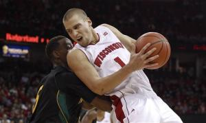 Brust, No. 23 Wisconsin top SE Louisiana 87-47