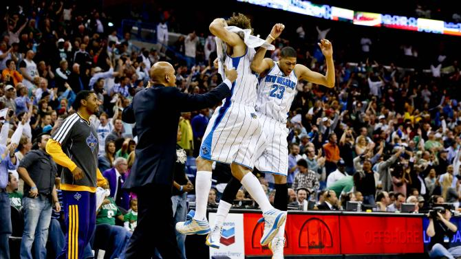 NBA: Boston Celtics at New Orleans Hornets