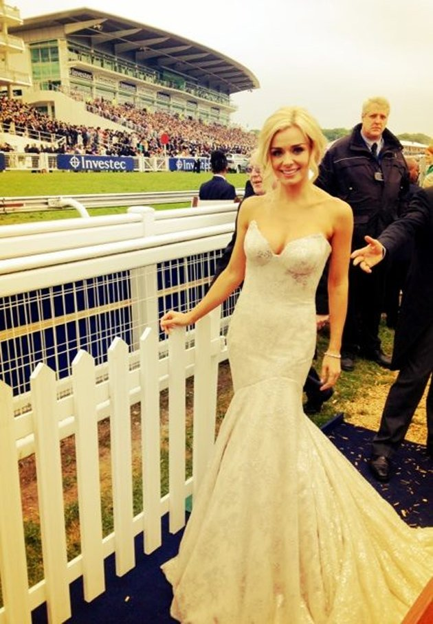 Katherine Jenkins, Epsom, weight loss